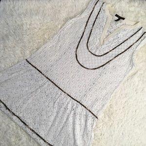 BCBG Lace Swimsuit Coverup